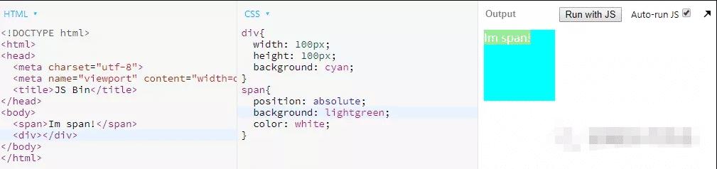 普通定位元素是指z-index为auto的定位元素