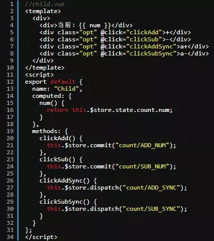 模块用来存放数据和修改数据