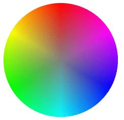 锥形渐变实现的基于色相和饱和度的取色盘