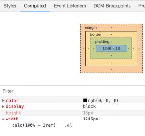 Chrome DevTools –计算