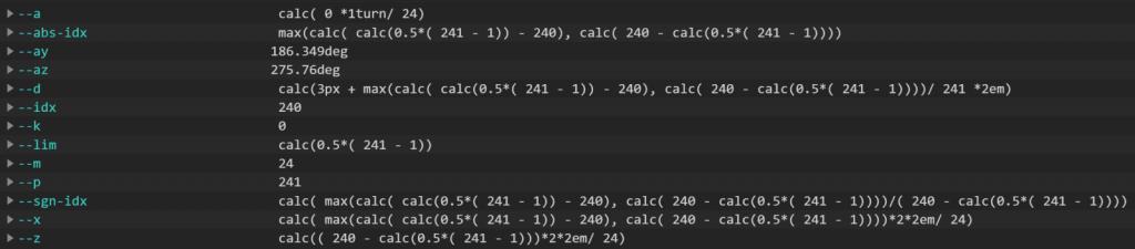 弄清楚这些calc()表达式的结果并不容易