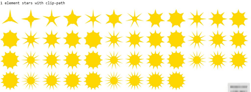 多个胖星星