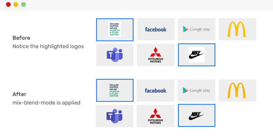 Logo图像带有背景颜色
