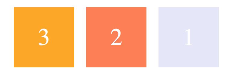 row-reverse:主轴为水平方向,起点在右端