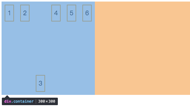 align-self: 允许单个项目有与其他项目不一样的对齐方式