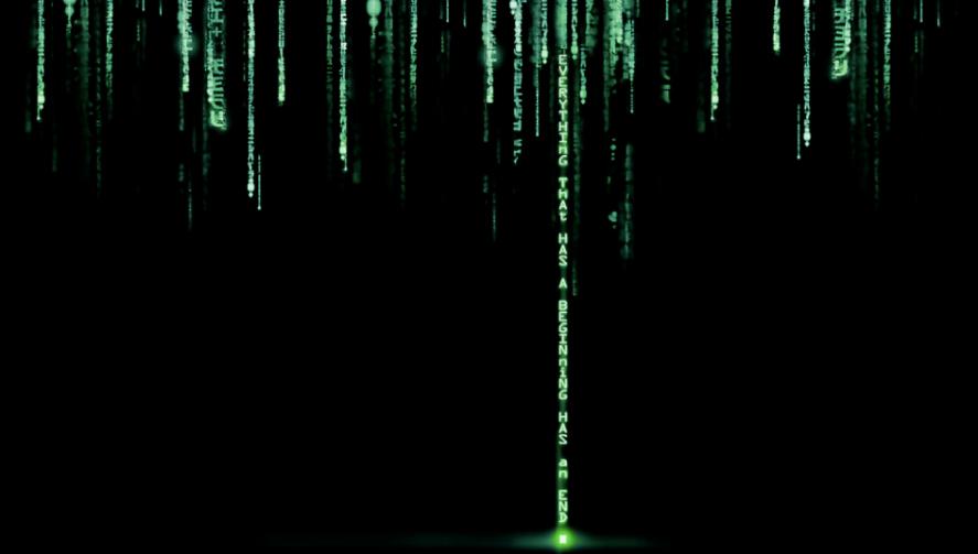 黑客帝国风格