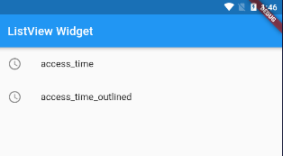 Flutter ListView 列表组件简介