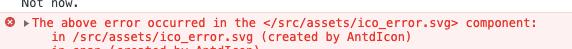 浏览器报错: