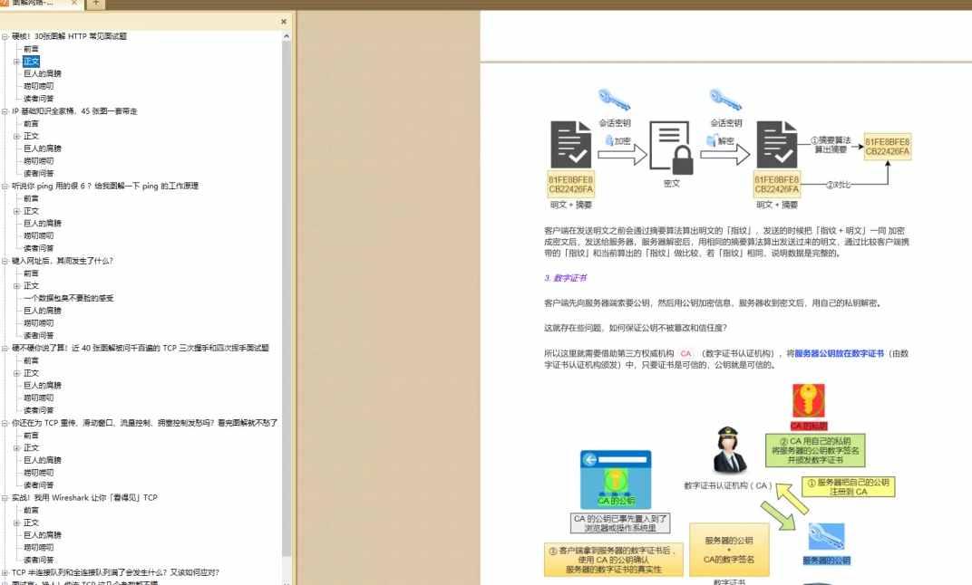 图解网络 PDF - 亮白风格