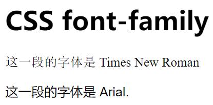 CSS Web安全字体组合