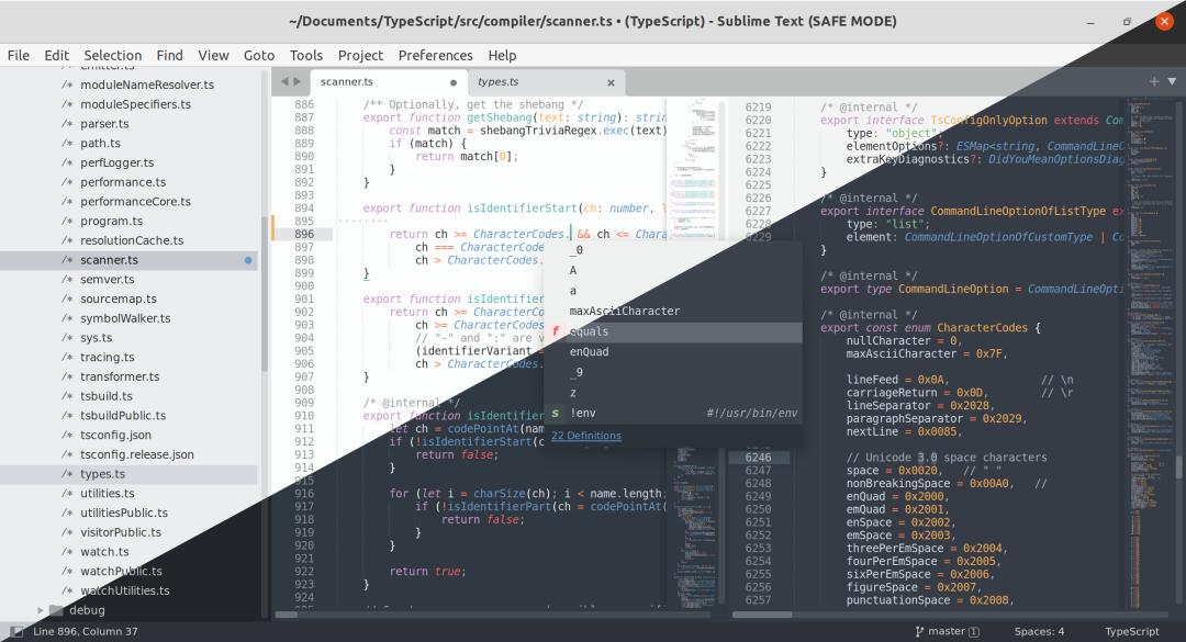 Sublime Text 4 的第一个稳定版已正式开放下载
