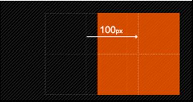 translateX(x)仅水平方向移动