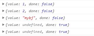 手写实现 iterator 接口