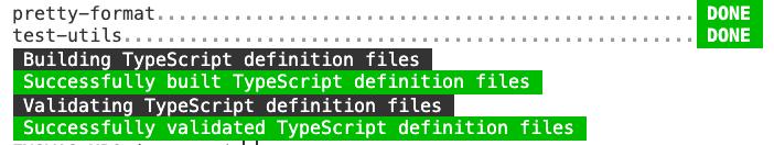 ts 文件编译到 build 文件夹中