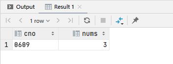 SQL 之 HAVING 的用法