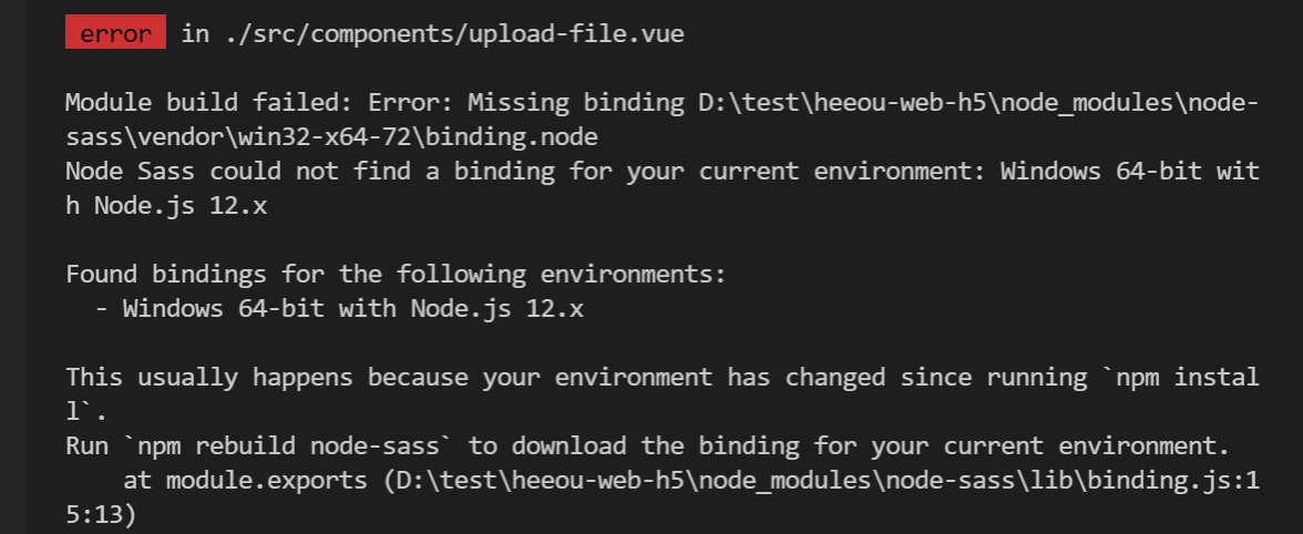 npm start报错: Node Sass version 6.0.1 is incompatible with ^4.0.0.at getRenderFuncFromSassImpl