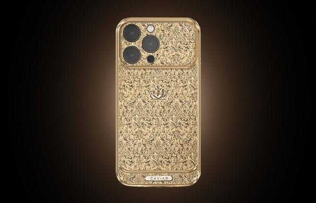 纯金打造iPhone 13 Pro起售价27万