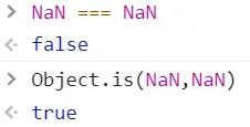 Object.is() 即===