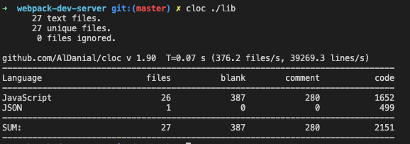 clonewebpack-dev-server仓库的代码